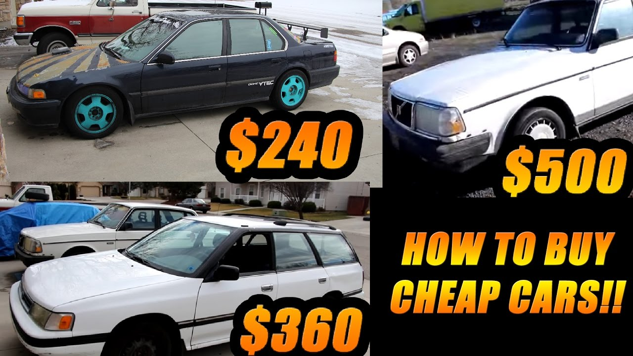 Craigslist For Cars >> How To Buy Cars DIRT CHEAP | My Willis Auto